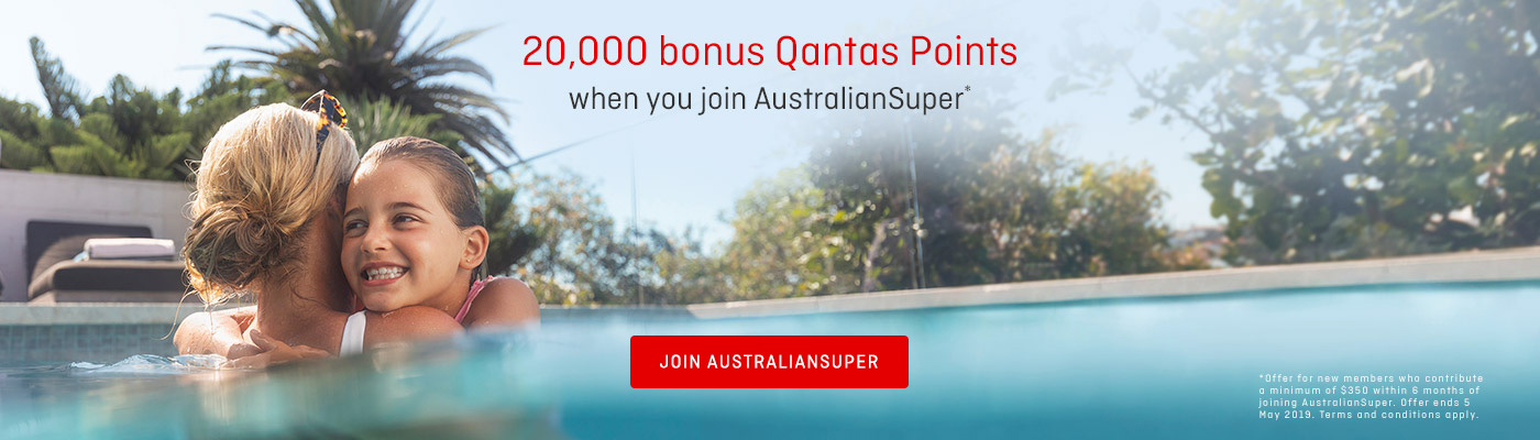 Earn Qantas Points with AustralianSuper