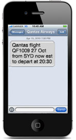 SMS delay message