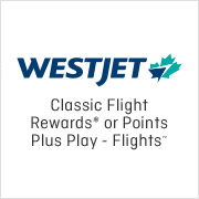 WestJet - Classic Flight Rewards from 25 May 2016