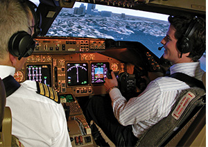 Qantas Flight Simulator