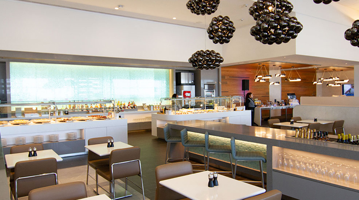 Associated Lounges (American Airlines Flagship Lounge)