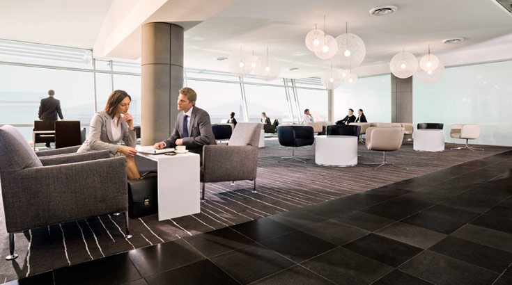 how to stay at qantas lounge