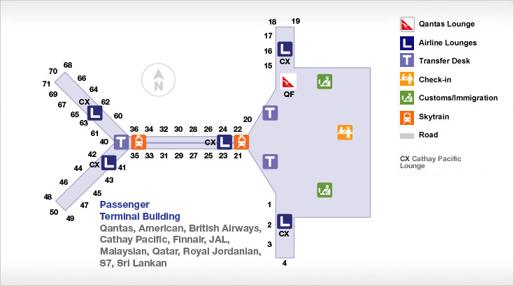 Hong Kong International Airport Map