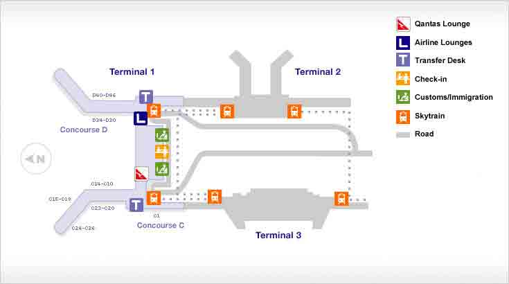 Changi Airport Map Singapore Changi Airport Guide | Qantas