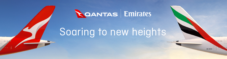 Earn double Qantas Points with Qantas and Emirates