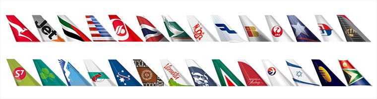 Flight partners tails